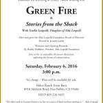 "Free ""Green Fire"" Screening on Feb 6"