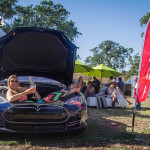 Test Drive Tesla at Earth Day Food & Wine